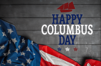 2020 Columbus Day Holiday Notice