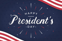 2021 President's Day Holiday Notice